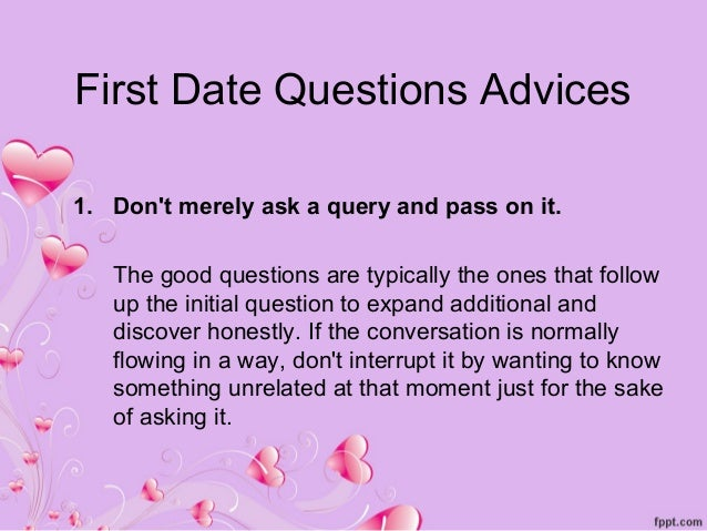 Questions to ask a woman before dating