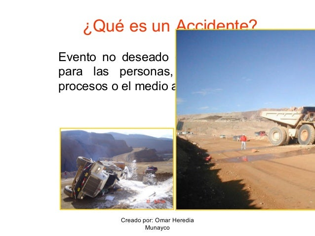 Qué es un accidente