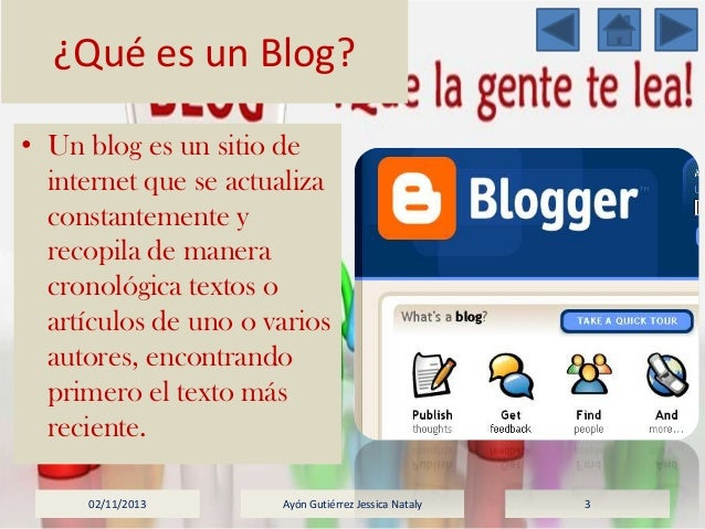 K Es Un Bisonte Qué es un blog