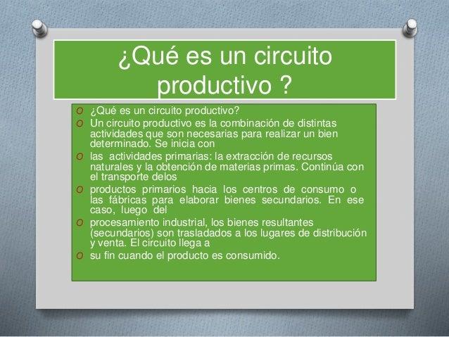 Circuito Que Es : Tipos de circuito en la argentina
