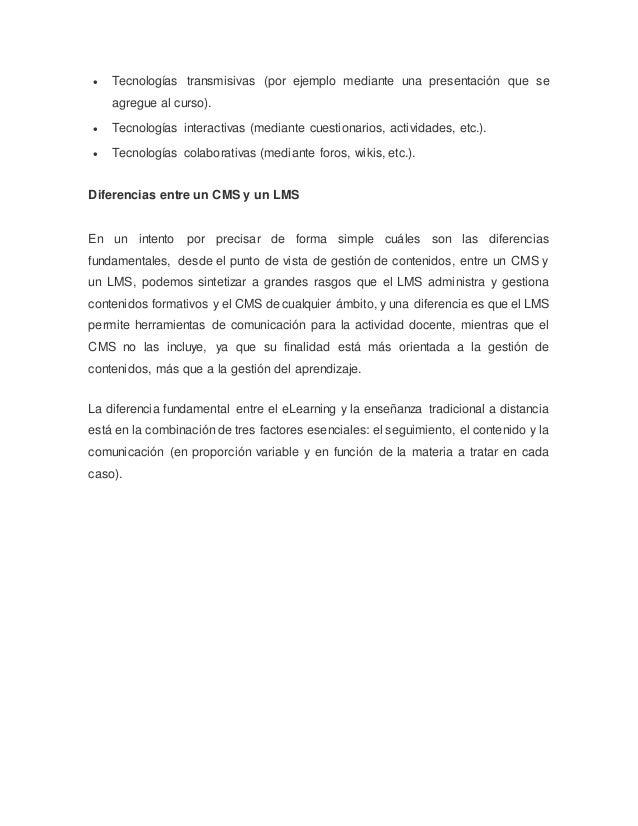 Qu es un cms y lms for Diferencia entre licencia de apertura y licencia de actividad