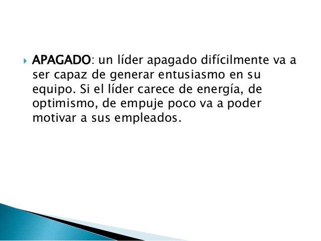 REHÚYE EL RIESGO: el líder debe luchar por unos objetivos, unas metas difícilmente alcanzables; esto le obliga a transitar...