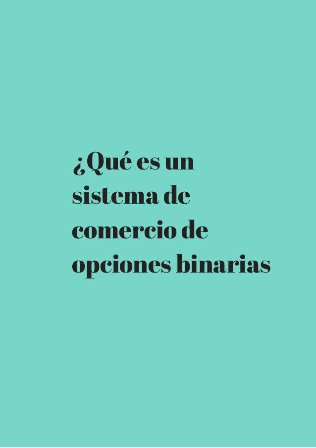 Comercio de opciones binarias en nadex