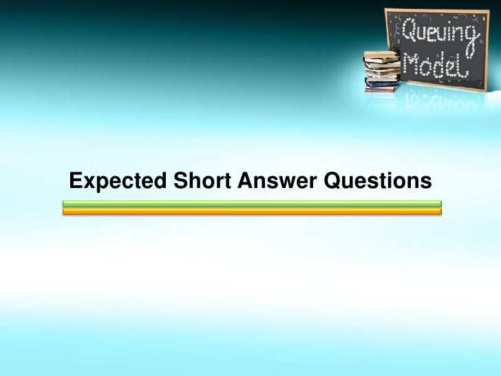 waiting line and queuing theory solutions A report i n quanti tati ve managementwaiting lines and queuing theory models introduction waiting line scribd waiting line problems with solution.