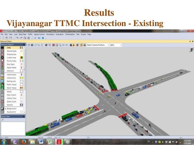 Traffic Queueing analysis using VISSIM Software by RK