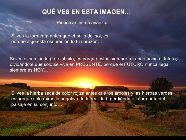 QUÉ VES EN ESTA IMAGEN… Si ves la tormenta antes que el brillo del sol, es porque algo está oscureciendo tu corazón… Si ve...