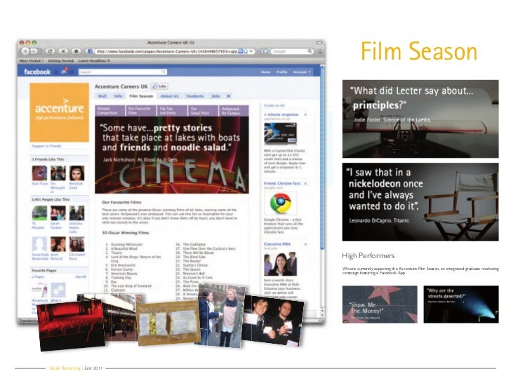 Film Season                                High Performers                                We are currently expecting the A...