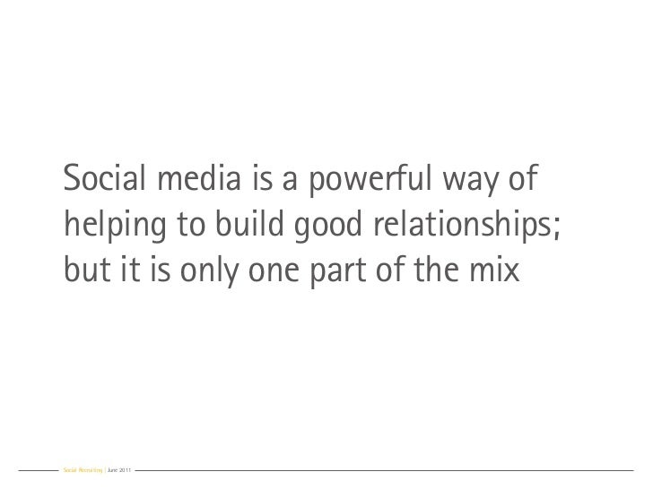 Social media is a powerful way ofhelping to build good relationships;but it is only one part of the mixSocial Recruiting |...