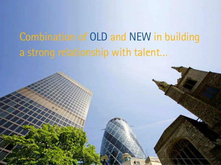 Combination of OLD and NEW in buildinga strong relationship with talent…Social Recruiting | June 2011