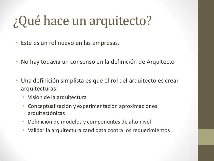 Qu hace un arquitecto de soluciones - Que hace un humidificador ...