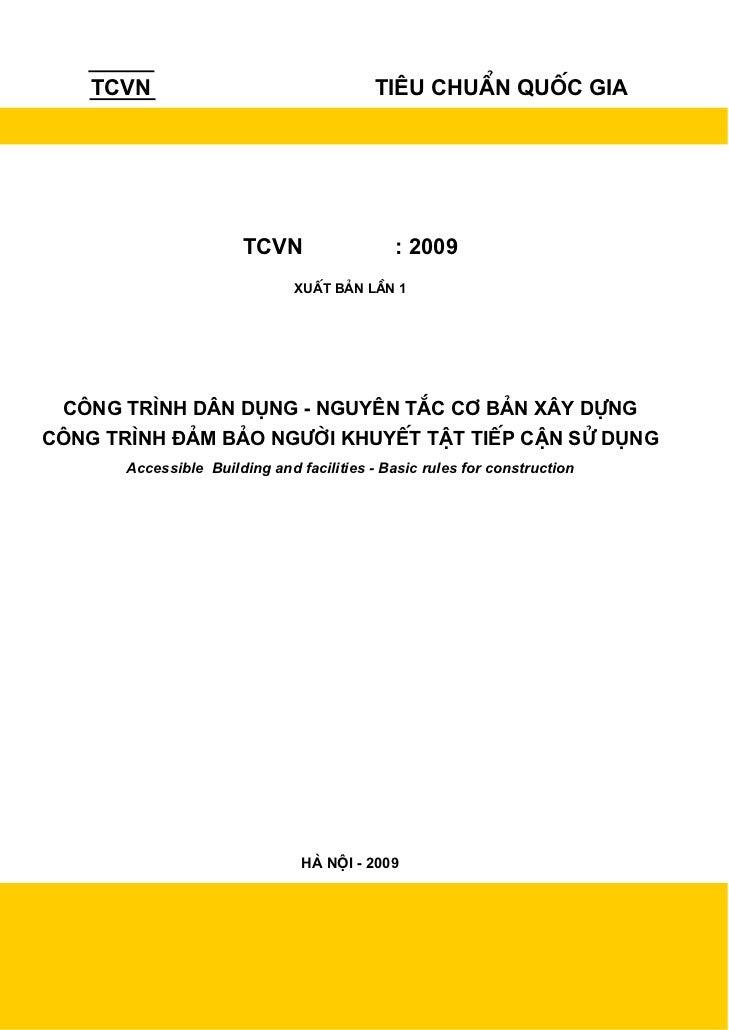 TCVN                                   Tiªu chuÈn quèc gia                       TCVN                   : 2009            ...