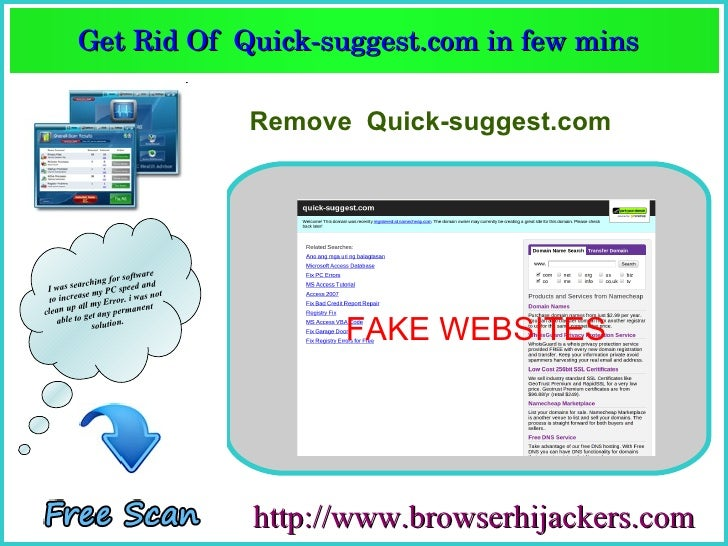 Get Rid Of Quicksuggest.com in few mins Get Rid Of ...