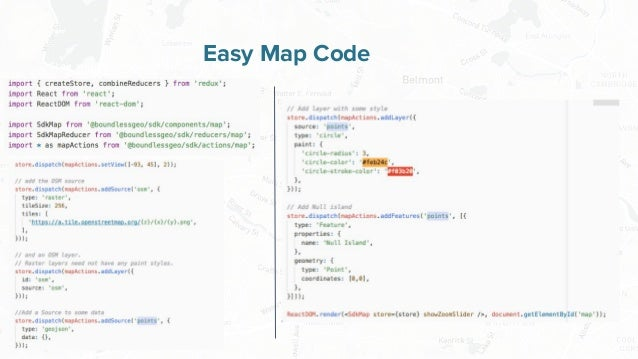 Free and Open Source Software for Geospatial Easy Map Code
