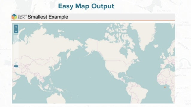 Free and Open Source Software for Geospatial Easy Map Output