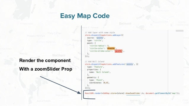 Free and Open Source Software for Geospatial Easy Map Code Render the component With a zoomSlider Prop