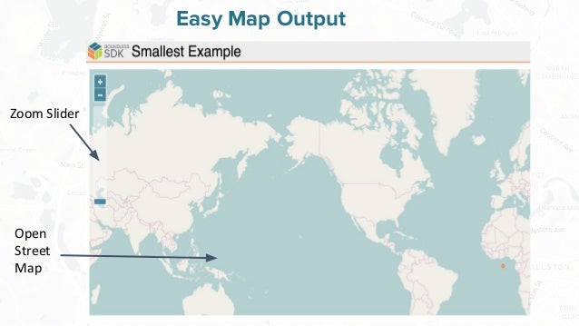 Free and Open Source Software for Geospatial Easy Map Output Zoom Slider Open Street Map