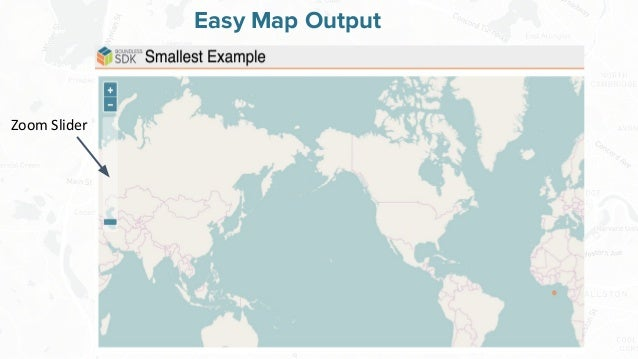 Free and Open Source Software for Geospatial Easy Map Output Zoom Slider