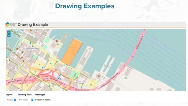 Free and Open Source Software for Geospatial Drawing Examples