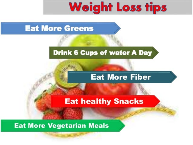 Healthy diet to loss weight