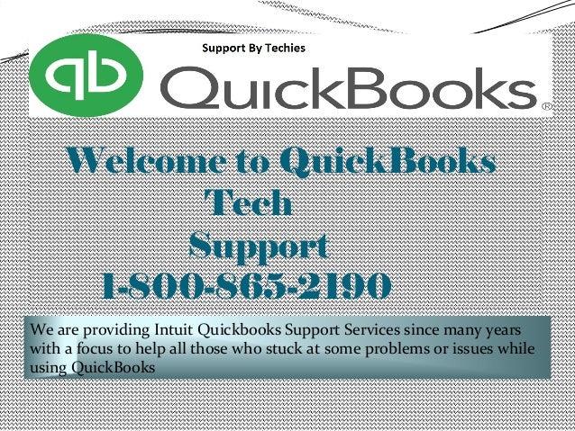 Quickbooks Support Number Slide 2