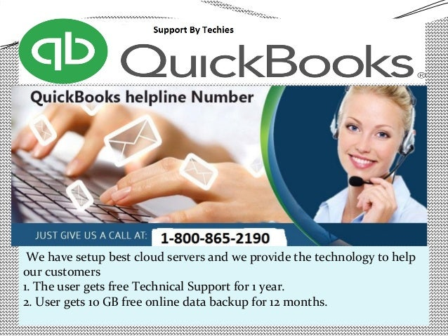 Quickbooks Support Number Slide 3