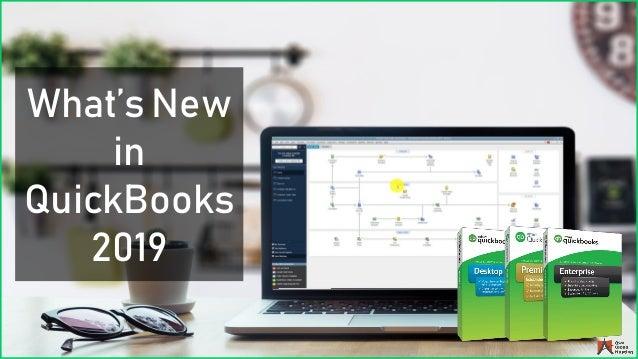 What's New in QuickBooks 2019