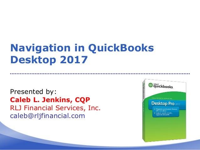 quickbooks desktop 2017