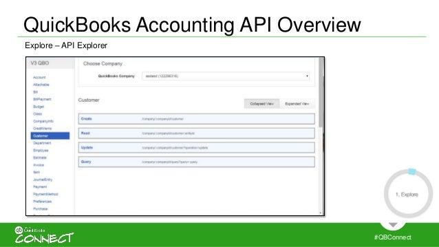 Intuit QuickBooks Accounting API