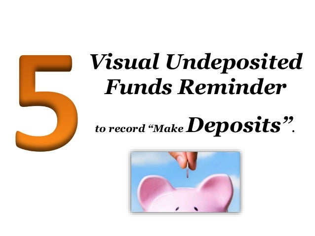 how to clear undeposited funds in quickbooks desktop