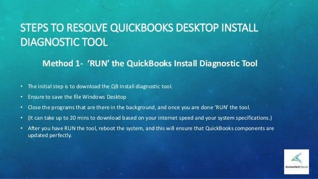 download quickbooks install diagnostic tool