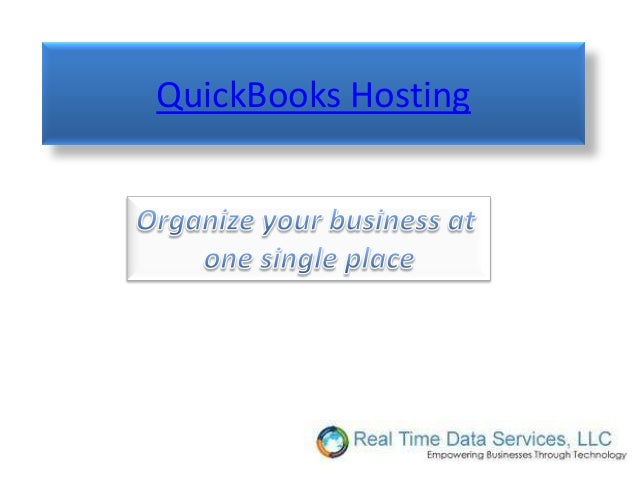 QuickBooks Hosting
