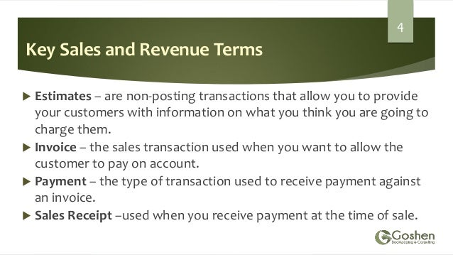 Managing Accounts Receivable In QuickBooks Online - Quickbooks invoice accounts receivable