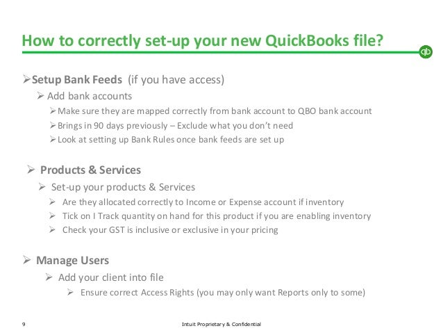 Quickbooks Online Data Conversion Tips and Tricks