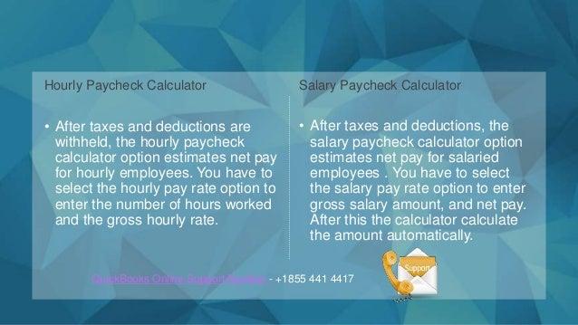 paycheck calculator salary