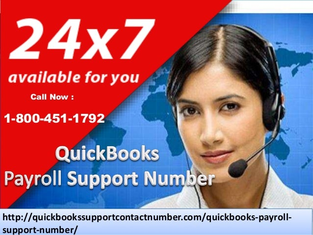 2  QuickBooks Payroll Support Number 1-800-451-1792 is a