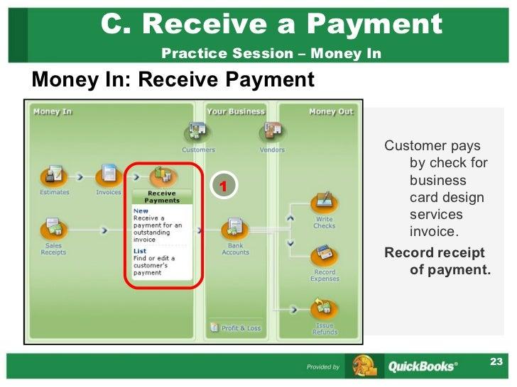 quickbooks simple start presentation, Invoice examples
