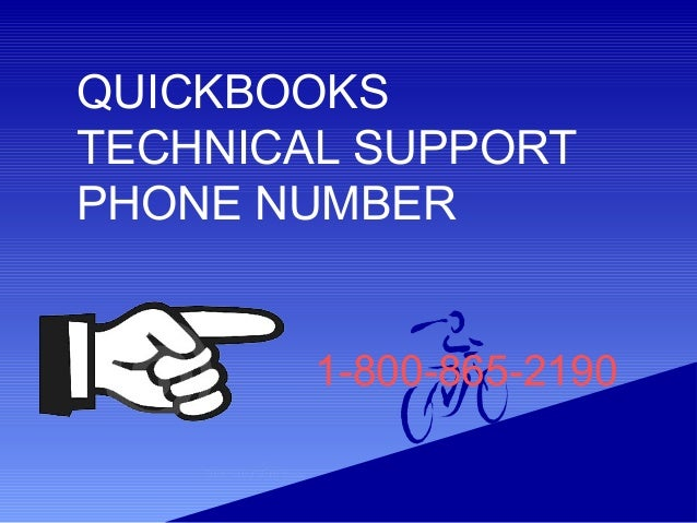 1-800-865-2190 QUICKBOOKS TECHNICAL SUPPORT PHONE NUMBER