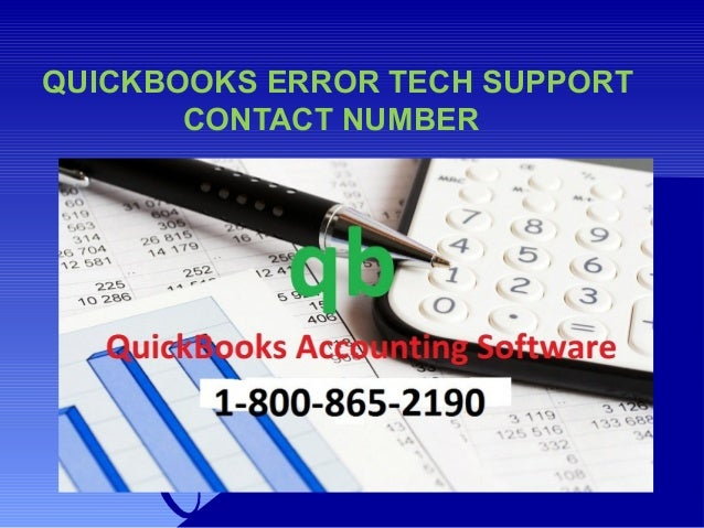 Quickbooks Technical Support Phone Number 1-800-865-2190 Slide 3