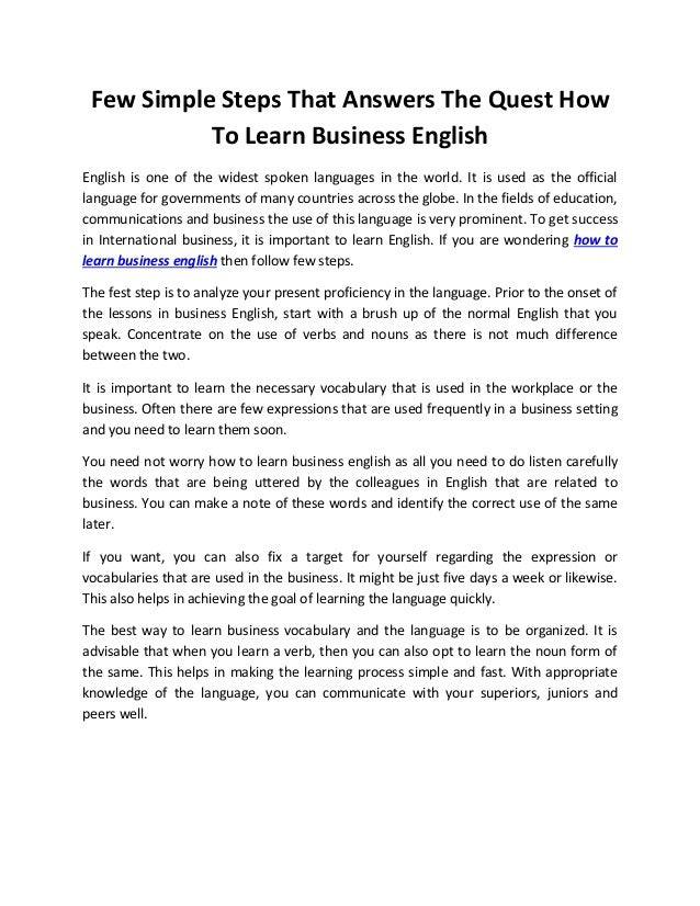 English to english meaning
