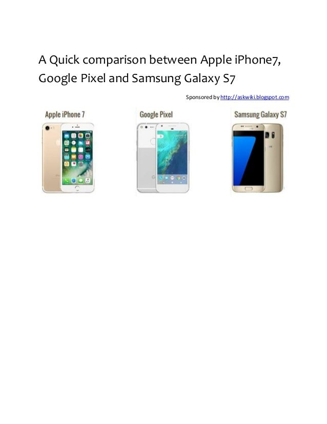comparison between apple and samsung Compare and contrast the practices of apple and samsung introduction both samsung and apple are the largest manufacturers of smart phones in the world.
