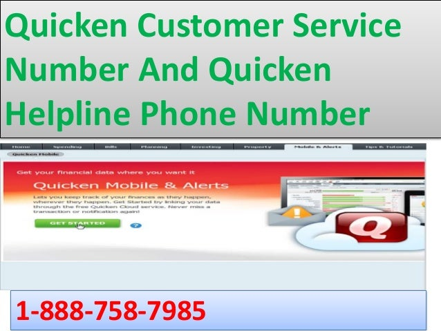 Keep Secure Your Quicken Account With Quicken Customer Service