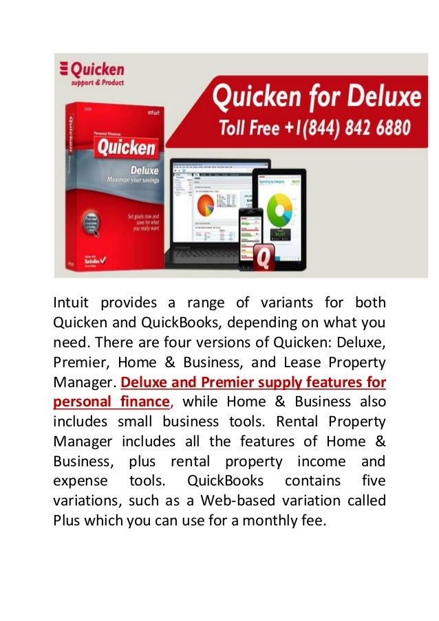Quicken Assist   Customer & Products Support-2018