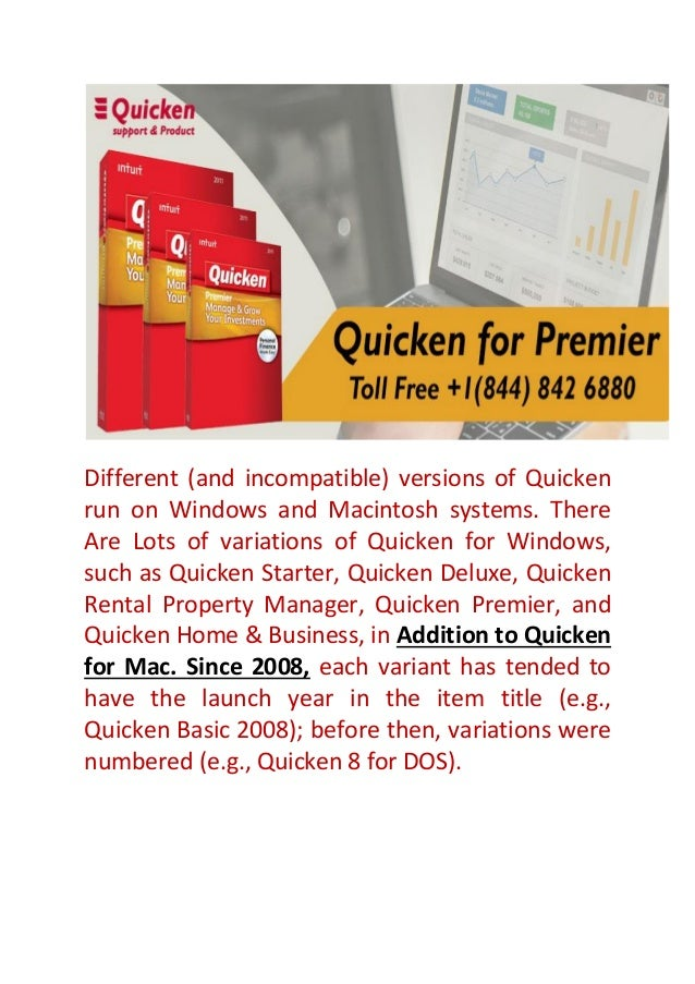 Quicken Assist | Customer & Products Support-2018