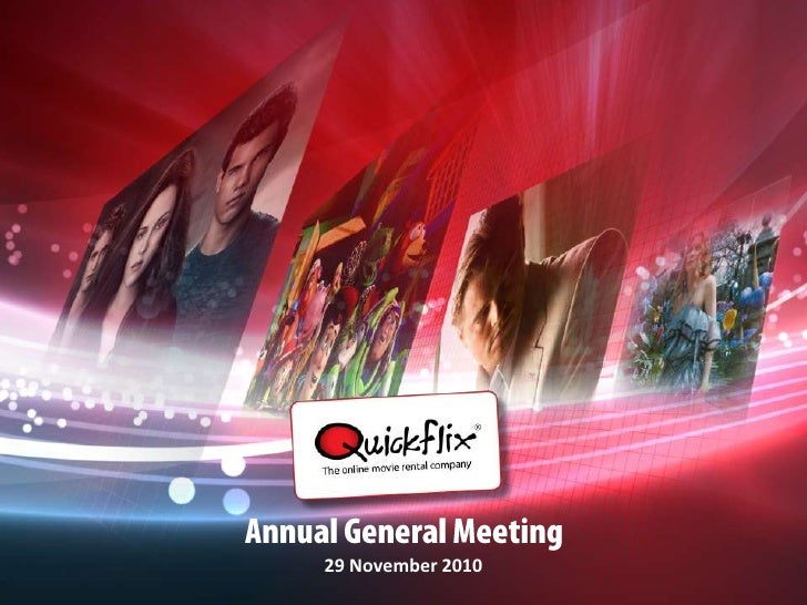Annual General Meeting<br />29 November 2010<br />