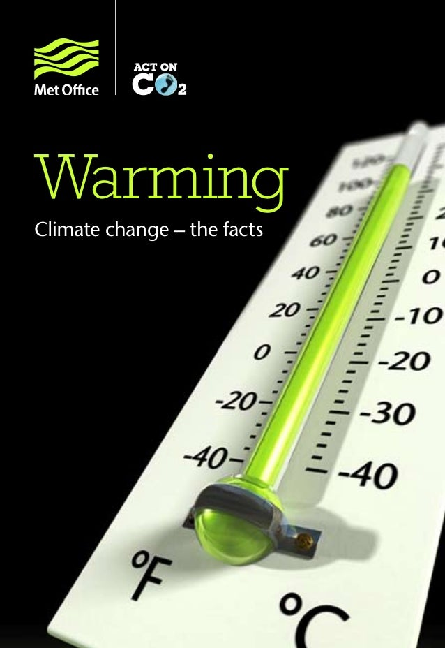 Warming Climate change – the facts