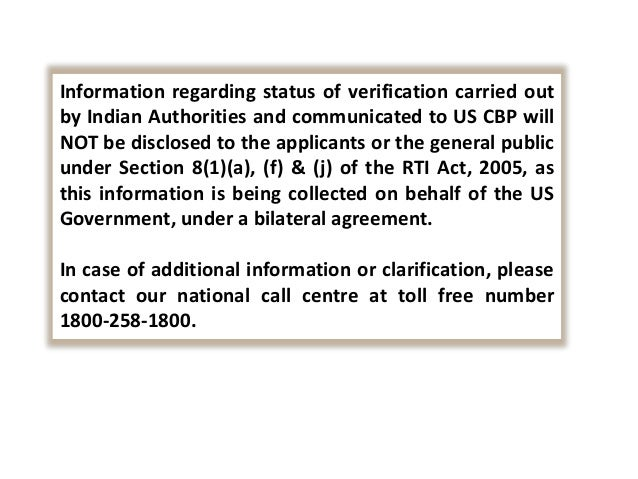 Steps to apply for background verification