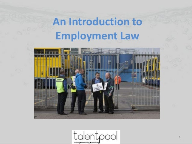An Introduction to Employment Law 1