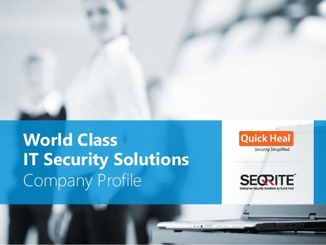 IT Security Solutions Company Profile World Class
