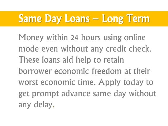 Permalink to 24 Hour Online Loans No Credit Check