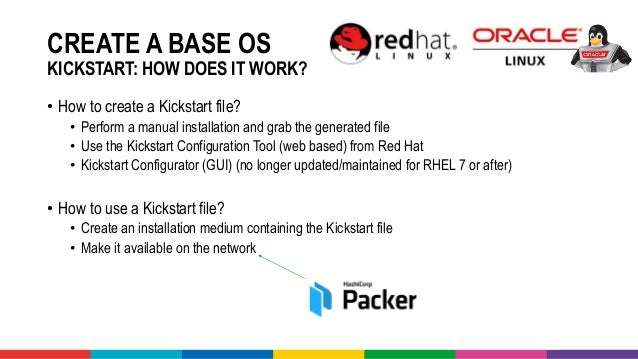 Quickly create a development VM using Kickstart, Packer, Vagrant, Vir…